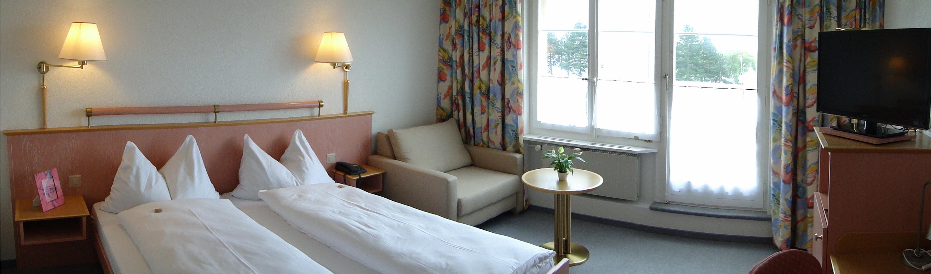 Chambre double supérieur | Hotel Bären Twann AG