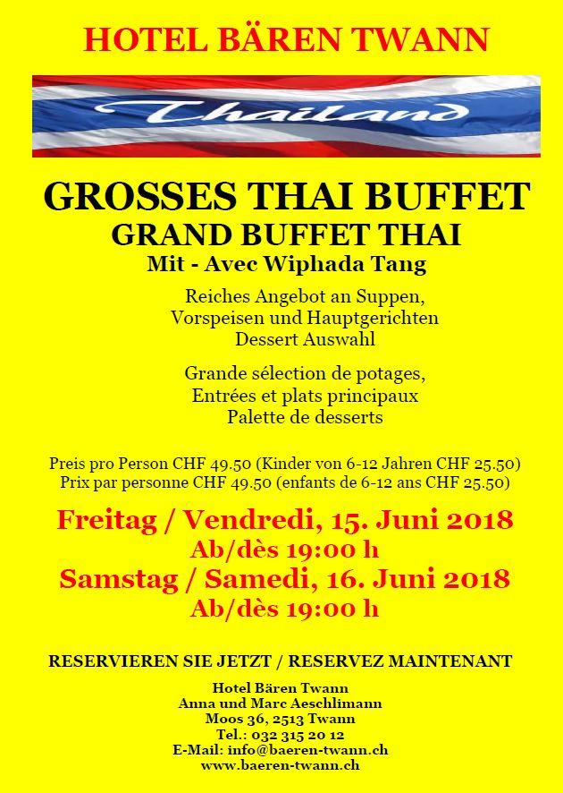 Thai Flyer Juni 2018