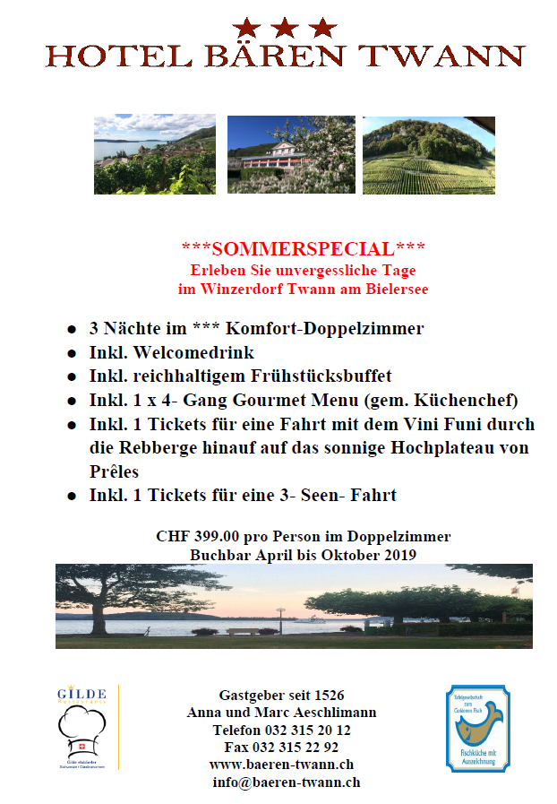 Sommerspecial 2019